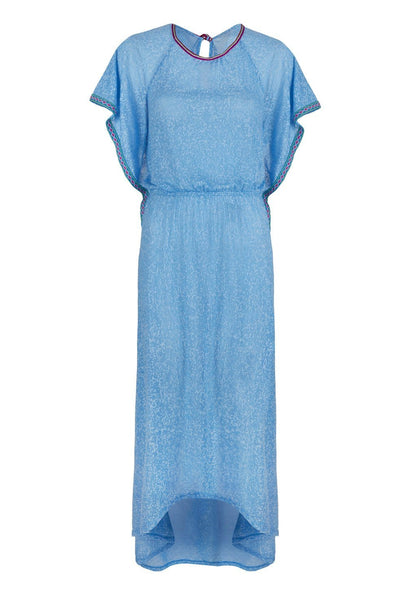 Blue Cheetah Florentina Maxi Dress - FINAL SALE ITEM