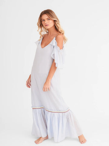 Arctic Ice Camille Maxi Dress