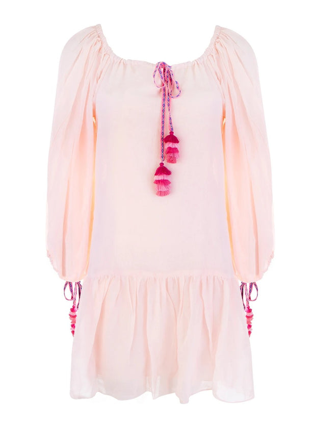Primrose Pink Pea Short Dress