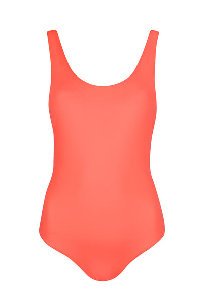 For A Rainy Day Coral One Piece