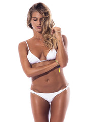 White The Scrunchie Bikini