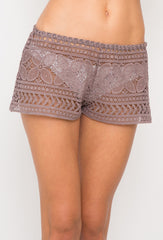 Brown Beach Comber Shorts