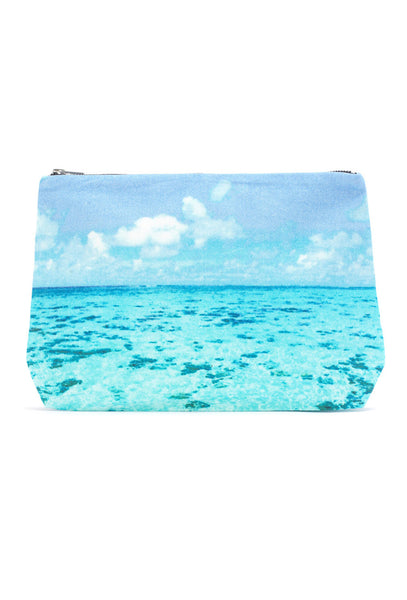 Tahiti Reef Clutch Bag