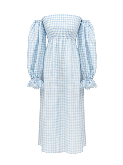 Atlanta Blue Vichy Dress