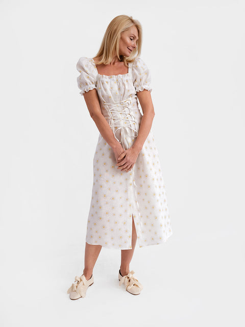 Marquise Daisies Dress