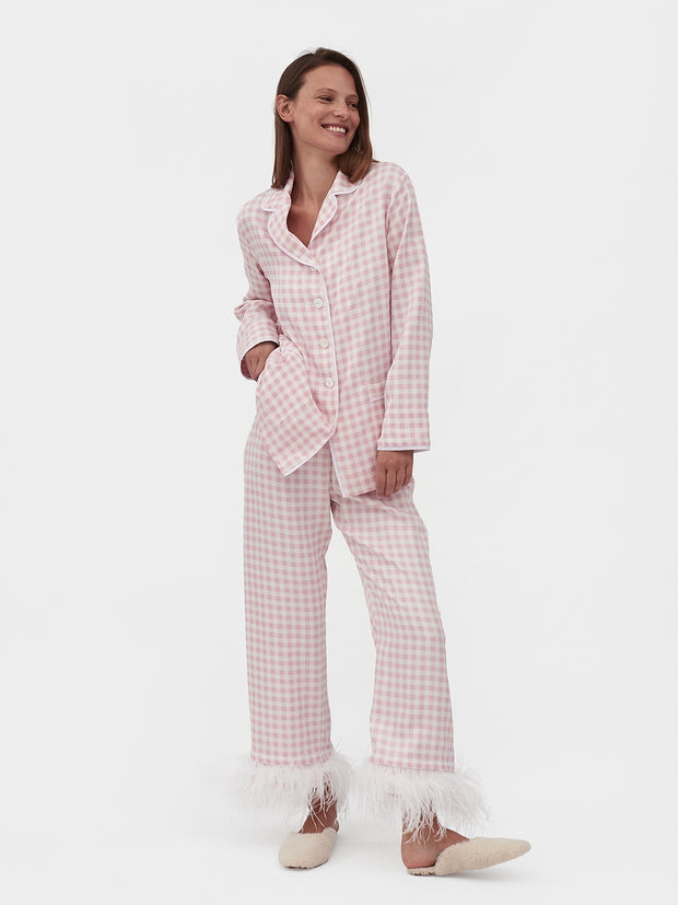 Pink Vichy Party Pyjamas