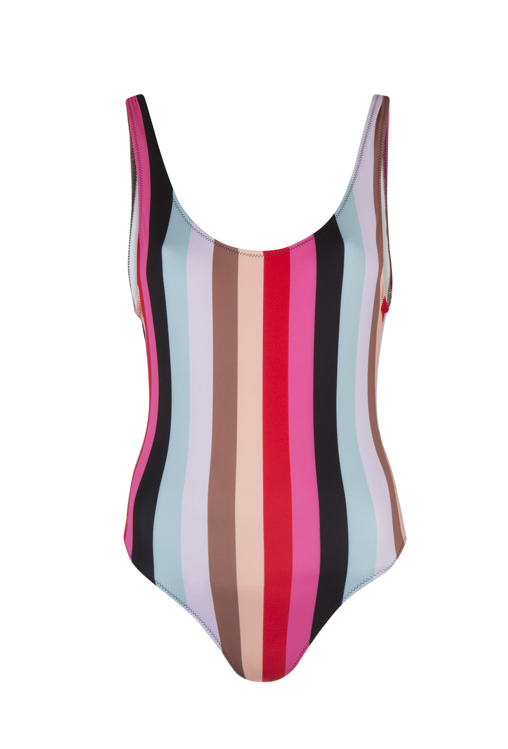 fcb6a7cabc Malibu Stripe The Anne-Marie One Piece