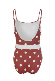 Nina Riad Cream Dot One Piece