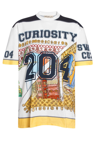 Curiosity 204 Printed Boyfriend T-shirt