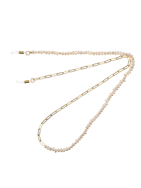 Pearl And Gold Sunglasses Chain