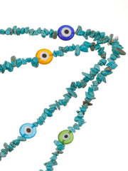 Turquoise Beaded Sunglasses Chain
