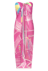 Pink La Plage 100% Modal Classic Sarong