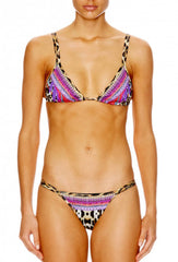 Kingdom Call Leopard Print Double Strap Bikini