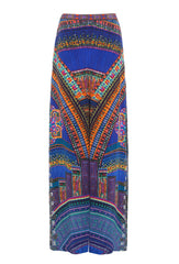 Ancient Paj Ndau Silk Trousers With Crystal Embellishment