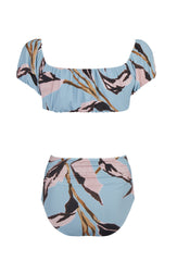 Dennin Dracena Print Off The Shoulder Bikini