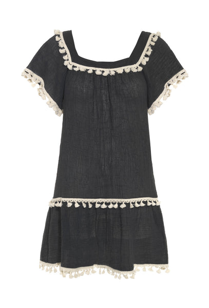 Charcoal Sea Breeze Sun Dress