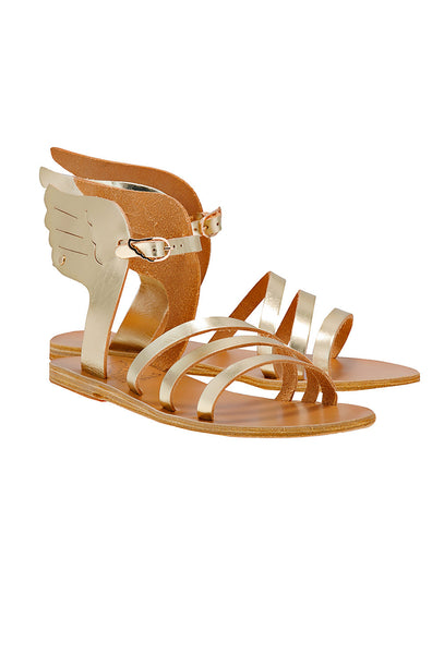 Gold leather Ikaria Sandals