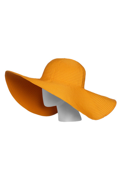 Orange UVA/UVB Protective Sun Hat