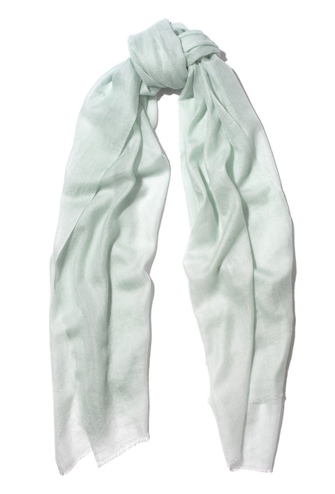 Mint Green Pure Cashmere Scarf
