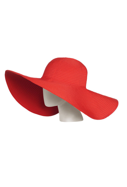 Red UVA/UVB Ray Protective Sun Hat