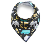 Questionably Quirky Collection - 4 Pack Bandana Bibs - BabaBibs