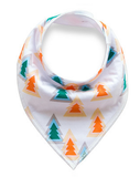 Green Orange Trees Bandana Bib