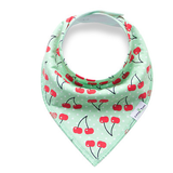 Green Cherries Bandana Bib