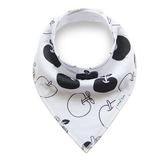 Brilliantly Black&White Collection - 4 Pack Bandana Bibs - BabaBibs