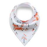 Fashionable Fox Collection - 4 Pack Bandana Bibs - BabaBibs