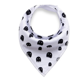 White Ghosts Bandana Bib