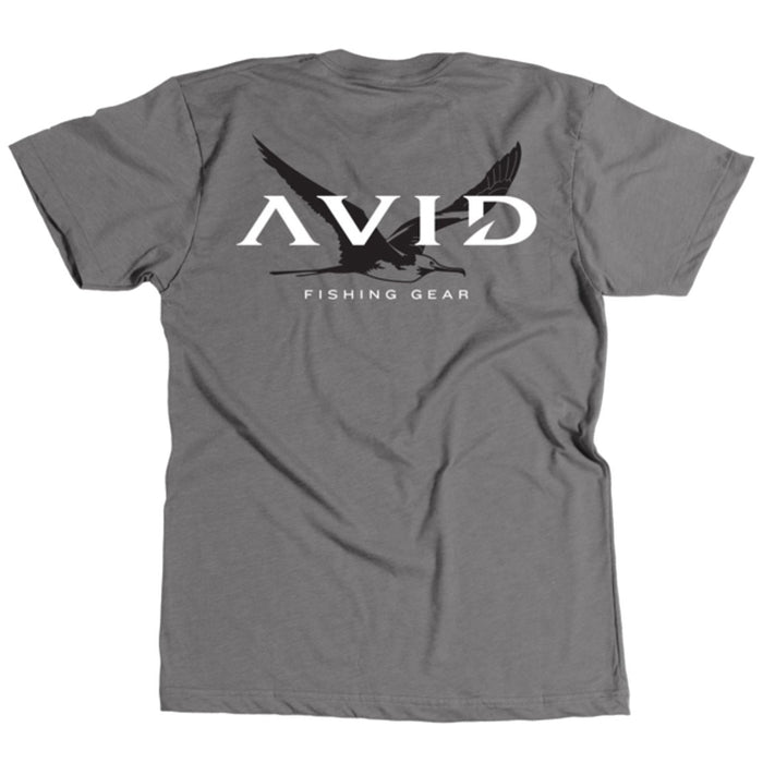 Avid - Frigate Flight Tee - Graphite Heather - OffshoreApparel.com