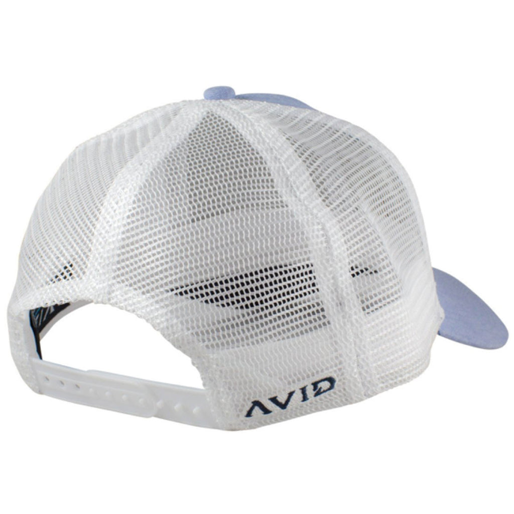 Avid - Lay Day Trucker Hat - Blue Chambray - OffshoreApparel.com