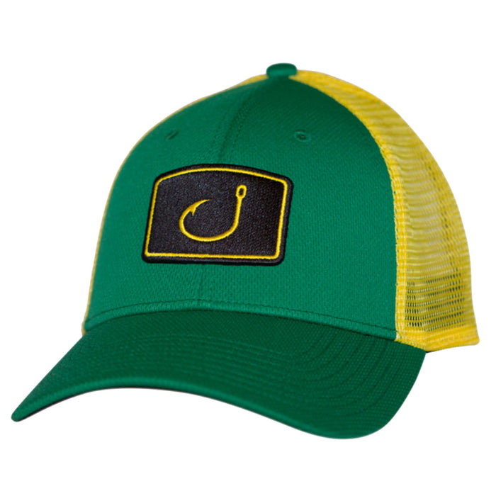 5fd564a374005 AVID - Iconic Trucker Hat - Green Yellow - OffshoreApparel.com