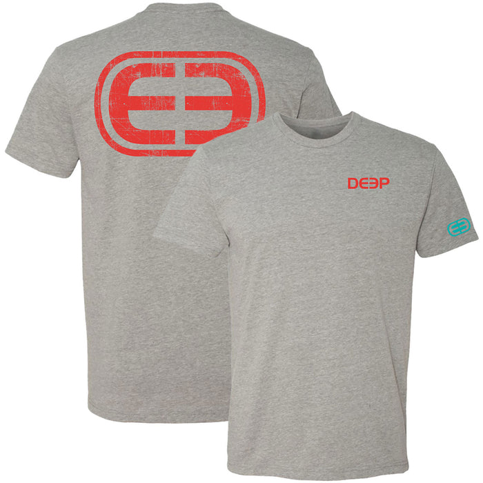 Deep - EE Logo Tee - Dark Heather - OffshoreApparel.com