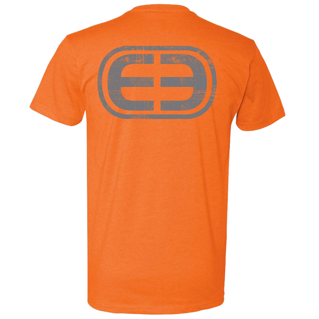 Deep - EE Logo Tee - Orange - OffshoreApparel.com