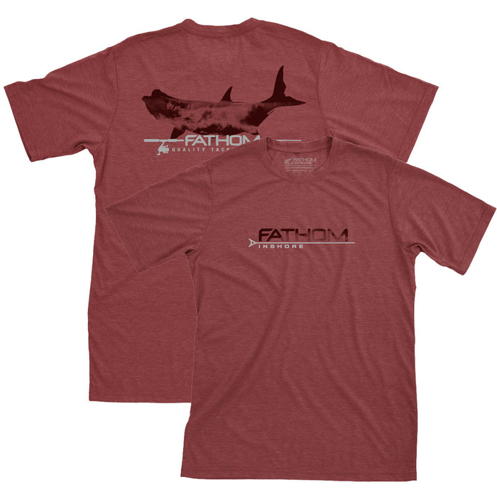 Fathom Offshore - Breakers Tarpon - Brick Heather - OffshoreApparel.com