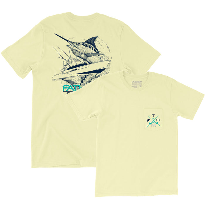 Fathom Offshore - Carolina Traditions 2.0 Tee - Banana