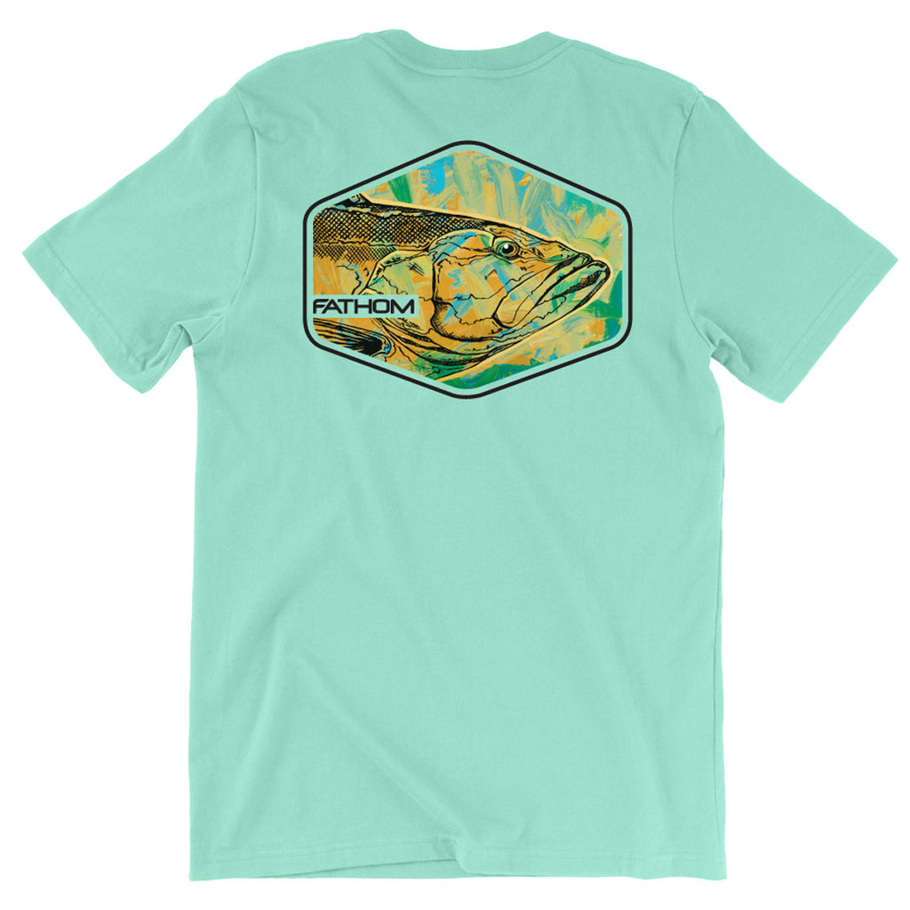 Fathom Offshore - Deep Drop Tee - Island Reef - OffshoreApparel.com