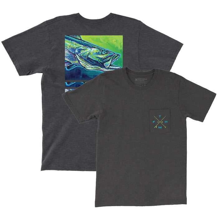 Fathom Offshore - Electric Trout - Charcoal - OffshoreApparel.com