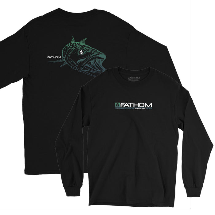 Fathom Offshore -Old Yella LS - Black - OffshoreApparel.com