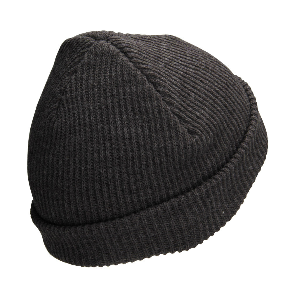 Fathom Offshore -  The Warf Beanie - Charcoal/Red - OffshoreApparel.com