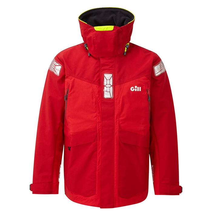 Gill - OS2 Offshore Jacket - Red - OffshoreApparel.com