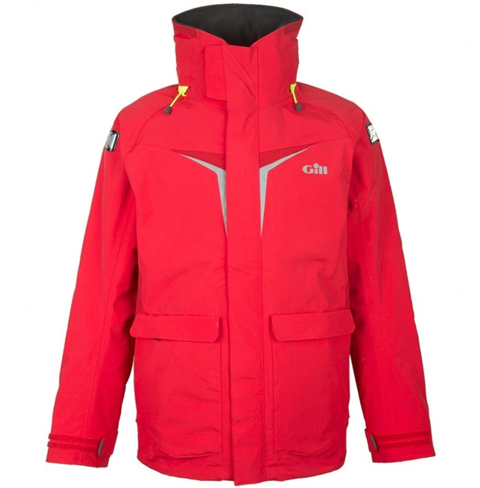 Gill - OS3 Coastal Jacket - Red - OffshoreApparel.com