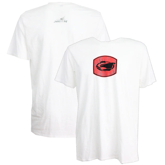 Jarrett Bay - JB Logo Mark Tee - White - OffshoreApparel.com