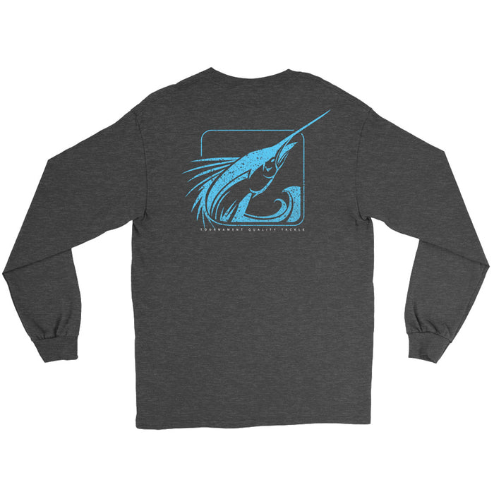 Fathom Offshore - Splice Logo LS - Charcoal Heather
