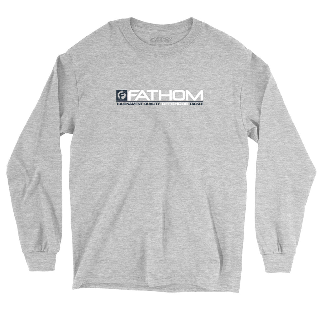 Fathom Offshore - NC State LS - Athletic Heather - OffshoreApparel.com
