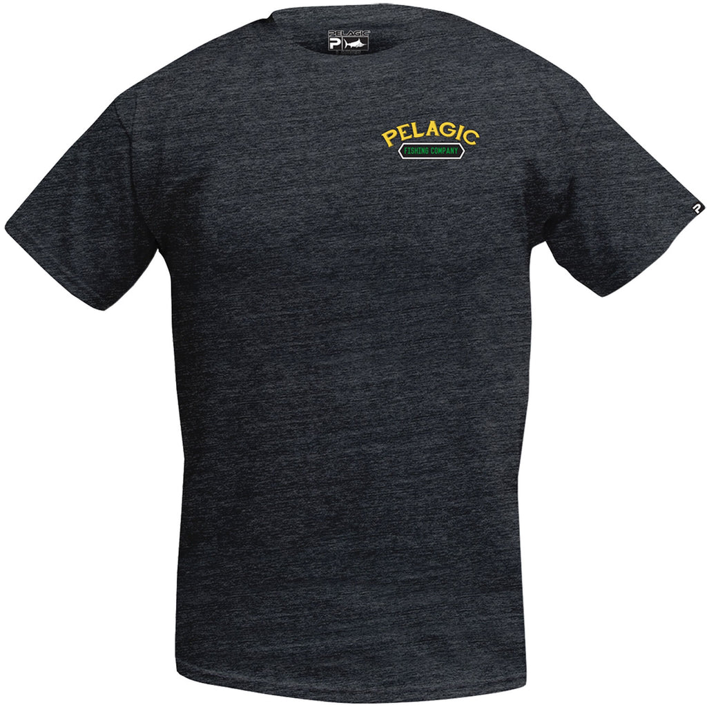 Pelagic - Dorado Company Tee - Heather Charcoal - OffshoreApparel.com