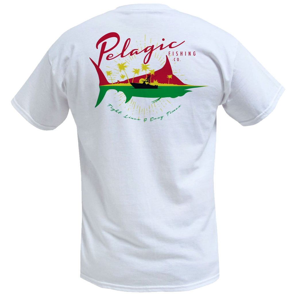 Pelagic - Easy Times Tee - White - OffshoreApparel.com