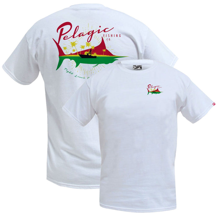 Pelagic - Easy Times Tee - White