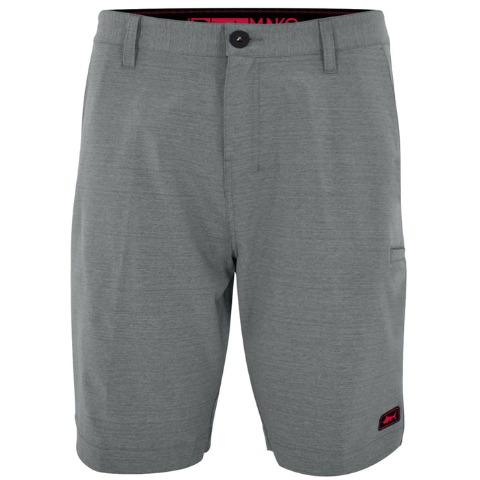 Pelagic Mako Hybrid Short - Grey - OffshoreApparel.com